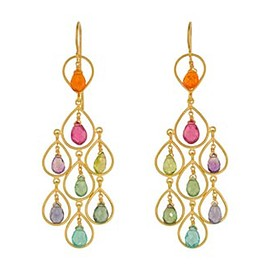 Marie-Hélène de Taillac - Rainbow Chandelier Earrings