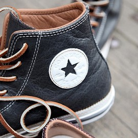 CONVERSE - Leather / sneakers