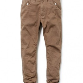 nonnative - WANDERER RIB PANTS – C/P KATSURAGI STRETCH