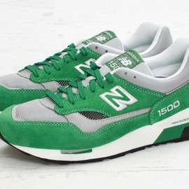 new balance - 1500 Green/Grey