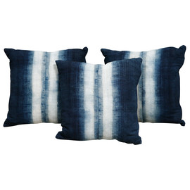 nk shop - indigo dyed pillow