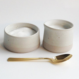 paper and clay studio - Cream & Sugar for Bess and Mike's Wedding registry