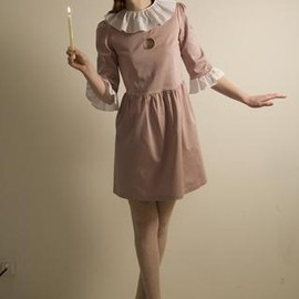 Vivetta - soft pink pierrot dress