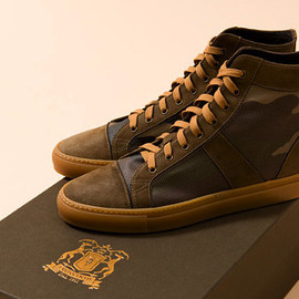 Trussardi 1911 - Trussardi 1911 Fall/Winter 2009 Camo Sneakers