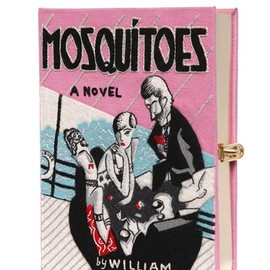 Olympia Le-Tan - MOSQUITOES BOOK CLUTCH