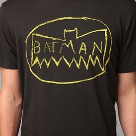 Junk Food Messy - Batman Logo Tee