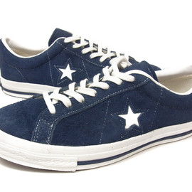CONVERSE - ONE STAR 1974 OX NAVY