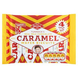 Tunnock's - Tunnock's caramel wafer biscuits