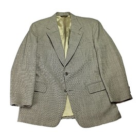 Brooks Brothers - Vintage Brooks Brothers Wool Houndstooth 2-Button Suit Jacket 43R
