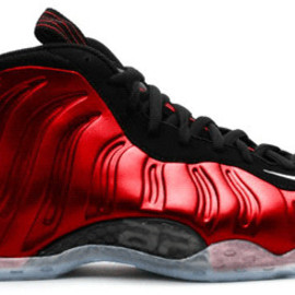 NIKE - Foam Posite Metallic Red