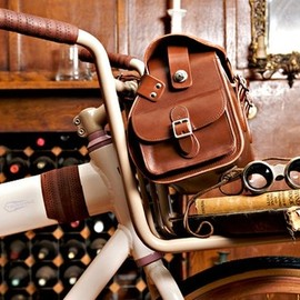 Brooks - Glenbrook Limited Edition Leather Saddle Holdall