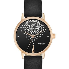 kate spade NEW YORK - black and rose gold champagne metro