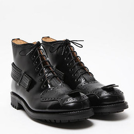 CASELY-HAYFORD - FOR JOHN MOORE MEN'S BROGUED 7 HOLE BOOT