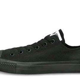 CONVERSE - CANVAS ALL STAR OX ブラックモノクローム