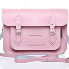 Zatchels - Pastel Baby Pink Leather Satchel