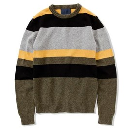 UMIT BENAN - STRIPED CREW NECK