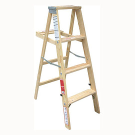 MICHIGAN LADDER COMPANY - Wood Ladders Type Ⅲ 4ft