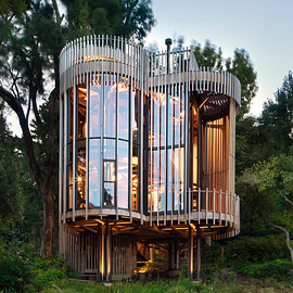 Cape Town - Paarman Treehouse by Malan Vorster