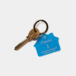 bonjour records, THE PARK・ING GINZA - bonjour records x THE PARK・ING GINZA KEY CHAIN