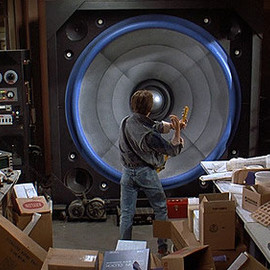 Back To The Future - Giant Speaker