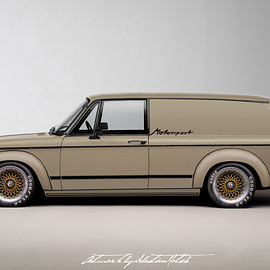 BMW - 2002 Turbo Panel Wagon Concept | Photoshop Chop by Sebastian Motsch (2016)