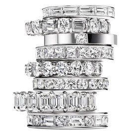 HARRY WINSTON -  Diamond Wedding Bands