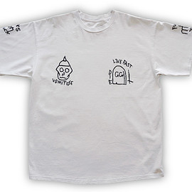 NADA. - Hand-embroidery Tee / L.gray