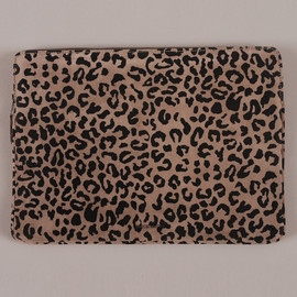 wood wood - Laptop Bag  - Grey Suede Leopard