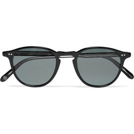GARRETT LEIGHT CALIFORNIA OPTICAL - Hampton D-Frame Acetate Sunglasses