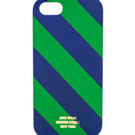JACK SPADE - Repp Stripe iPhone 5 Hard Case