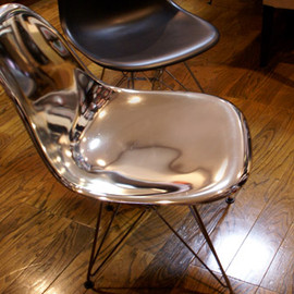 Herman Miller - Eames Shell Side Chair DSR 'plating'