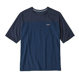 patagonia - M's Cotton in Conversion Tee, Stone Blue (SNBL)