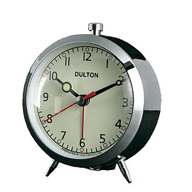 DULTON - ALARM CLOCK CHROME