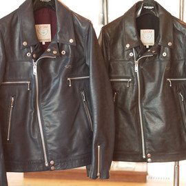 UNDERCOVERISM - leather riders jacket