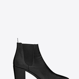 SAINT LAURENT PARIS - French booties