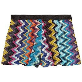 Missoni - Mare metallic crochet-knit shorts