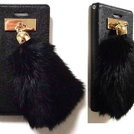 HANG FIRE(TONE ON TONE LEATHER + SUEDE COVER WITH STUNNING FRINGE DETAIL)