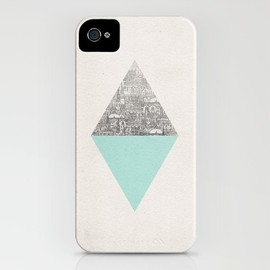 Society6 - Diamond iPhone Case