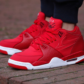 "Nike - Nike Air Flight '89 ""University Red"""