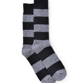 MARC BY MARC JACOBS - Striped Hiking Sock
