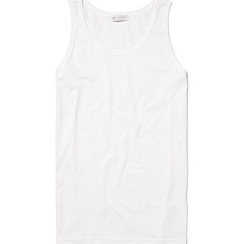 SUNSPEL - Sunspel Cotton Vest