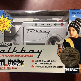 Tiger Electronics - Talkboy Tape Recorder and Player As Seen in Home Alone II (Tiger Electronics 1992)
