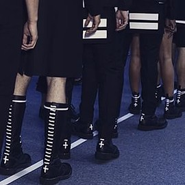 GIVENCHY - 2015s/s CROSS BOOTS