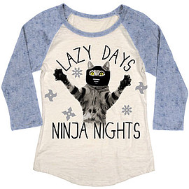 Ninja Nights Cat Tee