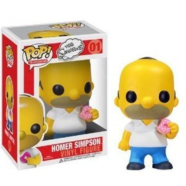 "Funko - Homer Simpson: ~4"" Funko POP The シンプソンズ Vinyl フィギュア"