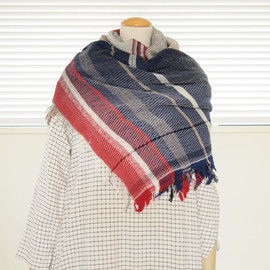 Roots Shawl Wool Middle