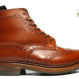 Tricker's - MALTON 2508 MAROON ANTIQUE