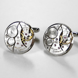 BULOVA - Watch Cufflinks