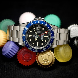 ROLEX - GMT-Master 1675 Radial All Blue