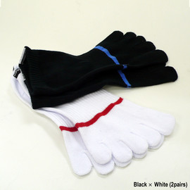 Gallery 1950 - Five Toe Socks Low -2 pairs-